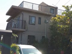 瀬戸市Y様邸 外壁塗り替え工事 施工前 全景写真