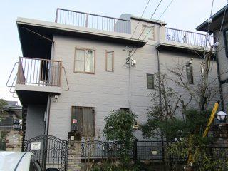 瀬戸市Y様邸 外壁塗り替え工事 施工後 外観画像