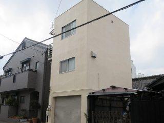 名古屋市S様邸 外壁塗り替え工事 施工後 外観画像