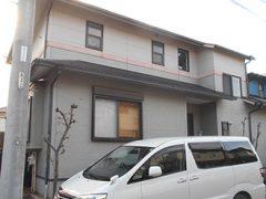 犬山市I様邸 外壁屋根塗り替え工事 施工前 全景写真