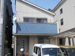 名古屋市H様邸 外壁屋根塗り替え工事 施工前 全景写真