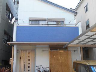 名古屋市H様邸 外壁屋根塗装工事 施工後 外観画像