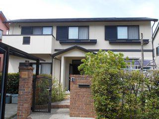 三重県桑名市Y様邸 外壁屋根塗装工事 施工後 外観画像