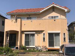 瀬戸市N様邸 外壁塗り替え工事 施工前 全景写真