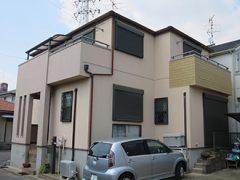 春日井市K様邸 外壁屋根塗り替え工事 施工前 全景写真