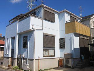 春日井市K様邸 外壁屋根塗装工事 施工後 外観画像