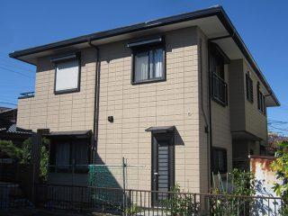 春日井市M様邸 外壁屋根塗装工事 施工後 外観画像