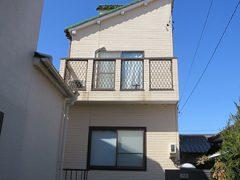 春日井市Y様邸 外壁塗り替え工事 施工前 全景写真