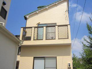 春日井市Y様邸 外壁塗装工事 施工後 外観画像