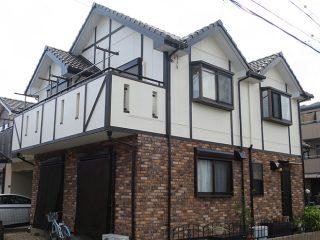 春日井市A様邸 外壁塗装工事 施工後 外観画像