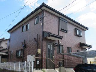 名古屋市K様邸 外壁塗装工事 施工後 外観画像