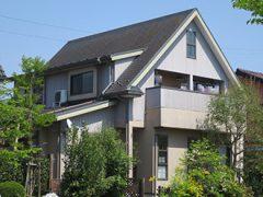 犬山市S様邸 外壁屋根塗り替え工事 施工前 全景写真
