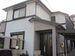 春日井市S様邸 外壁屋根塗り替え工事 施工前 全景写真