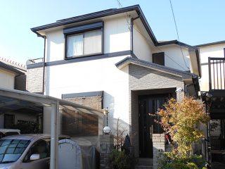 春日井市S様邸 外壁屋根塗装工事 施工後 外観画像