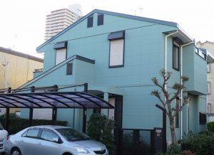 小牧市K様邸 外壁屋根塗装工事 施工後 外観画像