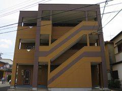 春日井市K様邸 外壁塗り替え工事 施工前 全景写真