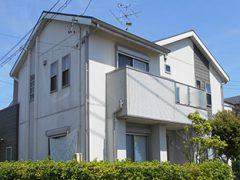 春日井市W様邸 外壁屋根塗り替え工事 施工前 全景写真