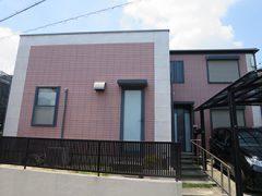 豊明市K様邸 外壁屋根塗り替え工事 施工前 全景写真