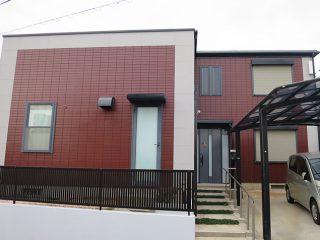 豊明市K様邸 外壁屋根塗装工事 施工後 外観画像