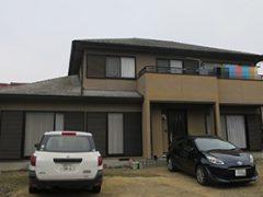 丹羽郡I様邸 外壁塗り替え工事 施工前 全景写真