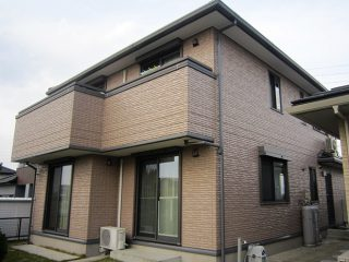 春日井市T様邸 外壁塗装工事 施工後 外観画像