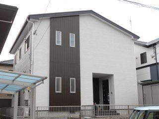 常滑市I様邸 外壁屋根塗装工事 施工後 外観画像