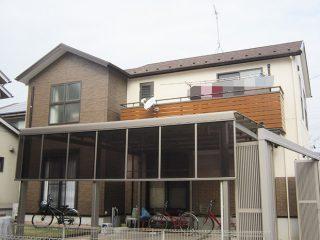 春日井市O様邸 外壁塗装工事 施工後 外観画像