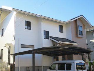 豊田市O様邸 外壁塗装工事 施工後 外観画像