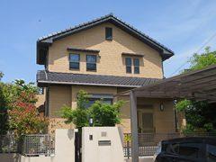 春日井市M様邸 外壁塗り替え工事 施工前 全景写真