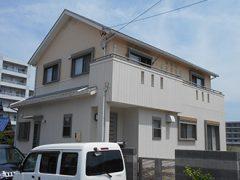 日進市M様邸 外壁屋根塗り替え工事 施工前 全景写真