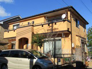 瀬戸市Y様邸 外壁塗装・屋根葺替え工事 施工後 外観写真