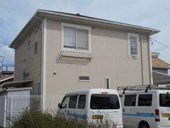 春日井市N様邸 外壁屋根塗り替え工事 施工前 全景写真
