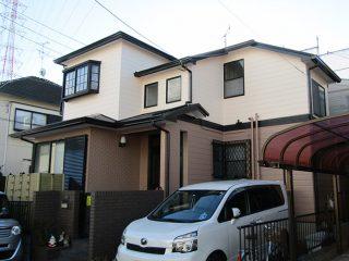 春日井市W様邸 外壁屋根塗装工事 施工後 外観画像