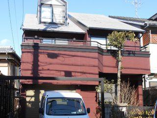 名古屋市T様邸 外壁屋根塗装工事 施工後 外観画像