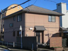 一宮市K様邸 外壁屋根塗り替え工事 施工前 全景写真