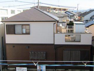 春日井市O様邸 外壁屋根塗装工事 施工後 外観画像