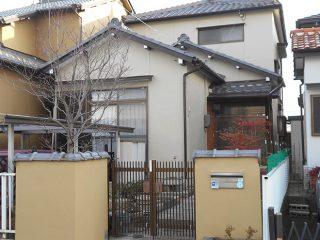 小牧市M様邸 外壁塗装工事 施工後 外観画像