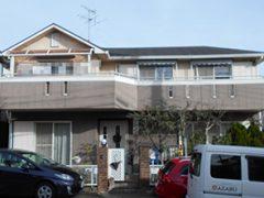 瀬戸市N様邸 外壁屋根塗り替え工事 施工前 全景写真