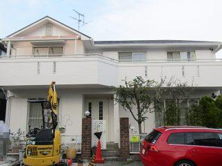 瀬戸市N様邸 外壁屋根塗装工事 施工後 外観画像