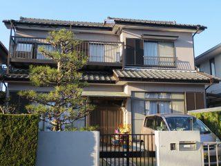 瀬戸市M様邸 外壁塗装工事 施工後 外観画像