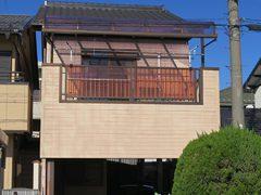 春日井市Y様 外壁塗り替え工事 施工前 全景写真