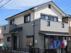 春日井市I様 外壁塗り替え工事 施工前 全景写真