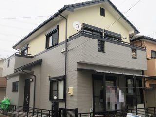 春日井市I様 外壁塗装工事 施工後 外観画像