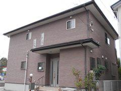 名古屋市O様 外壁屋根塗り替え工事 施工前 全景写真