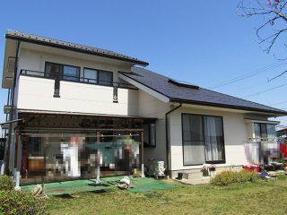 犬山市U様 外壁屋根塗り替え工事 施工後 外観画像