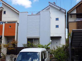 名古屋市T様 外壁塗り替え工事 施工後 外観画像