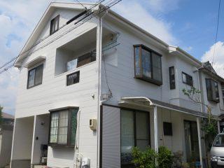 春日井市U様 外壁屋根塗り替え工事 施工後 全景写真