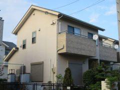 名古屋市K様 外壁塗装工事 施工前 外観画像