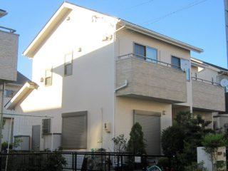 名古屋市K様 外壁塗り替え工事 施工後 全景写真