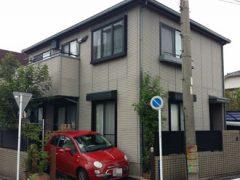 名古屋市F様 外壁塗装工事 施工前 外観画像
